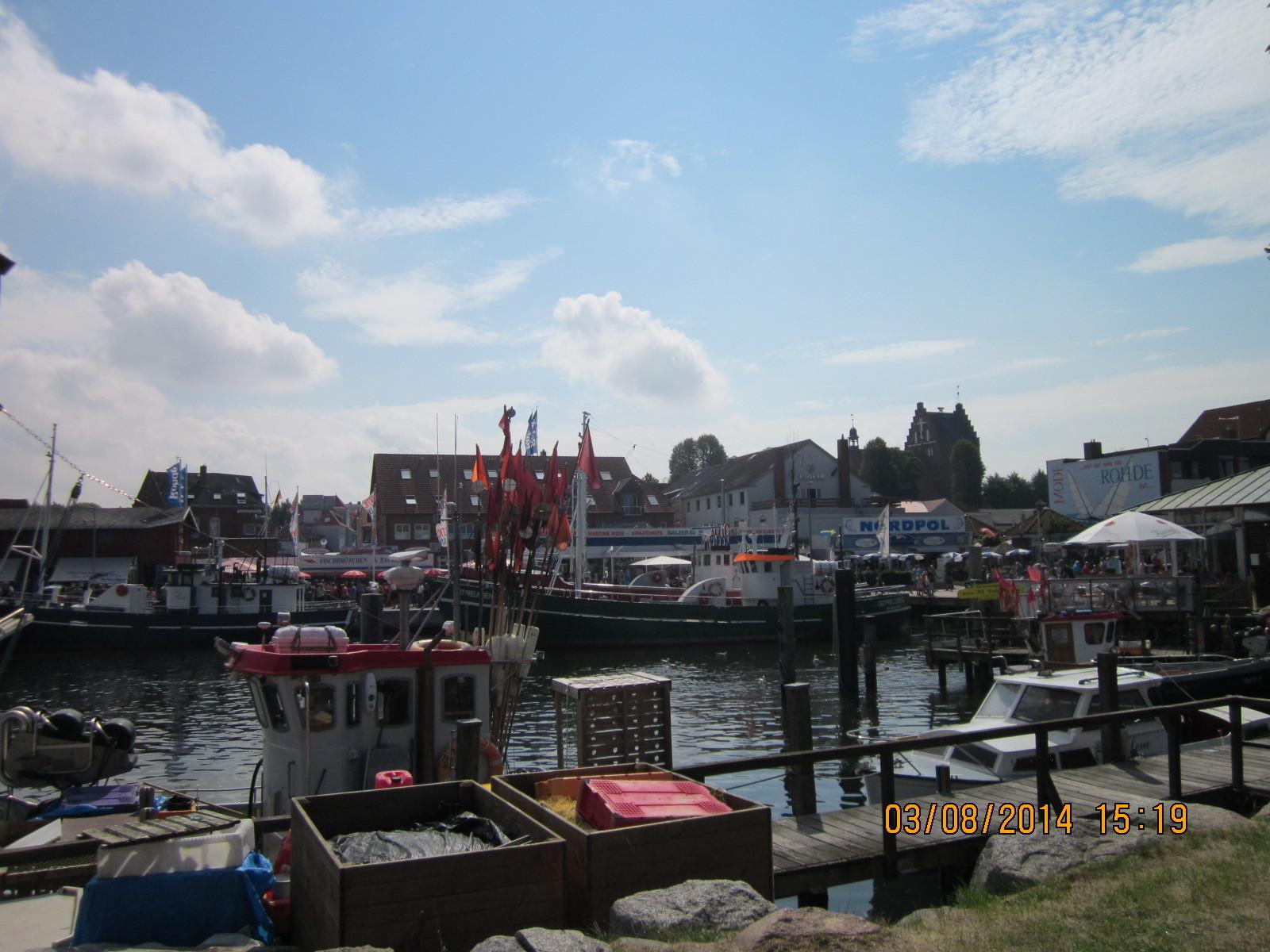 Und hier die Fischerboote
