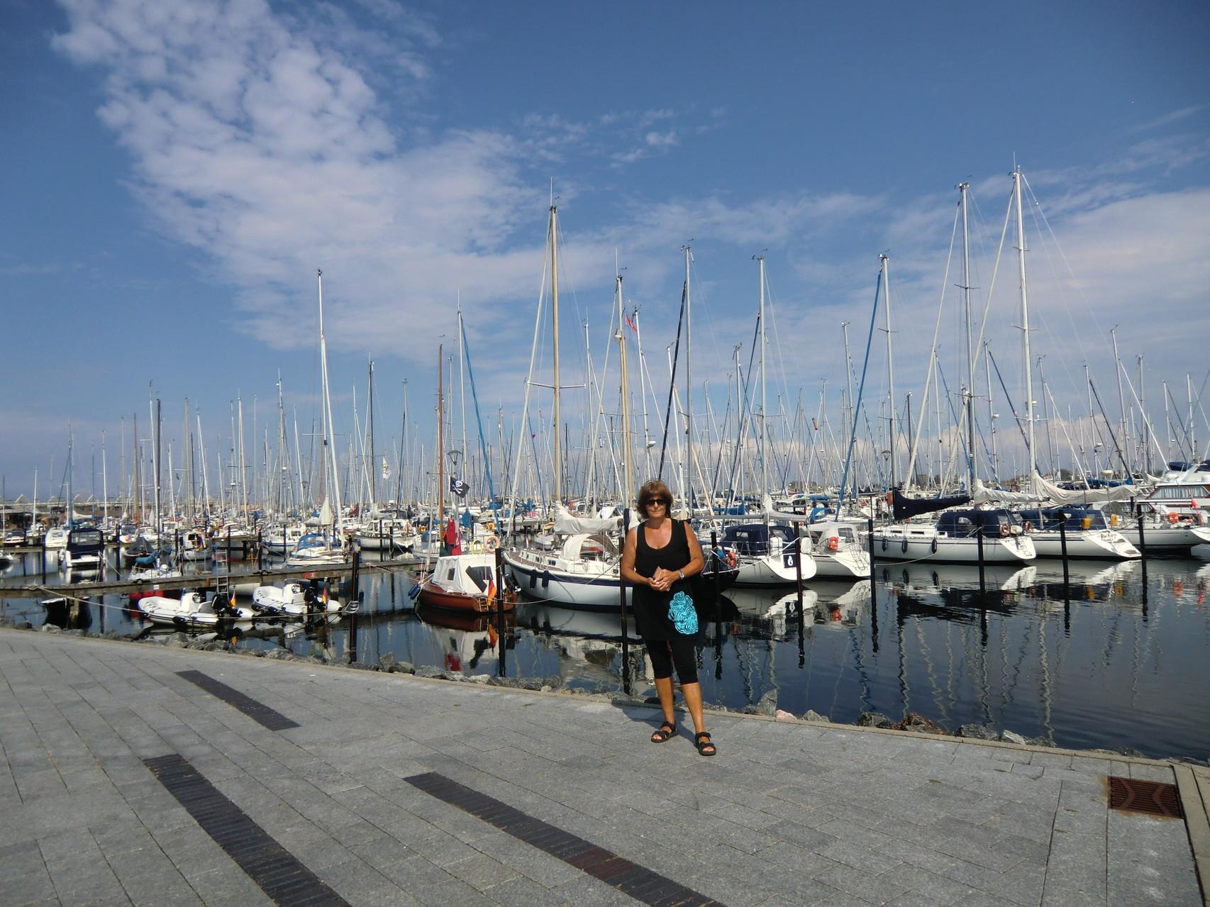 Boote im Hafen, so weit das Auge reicht