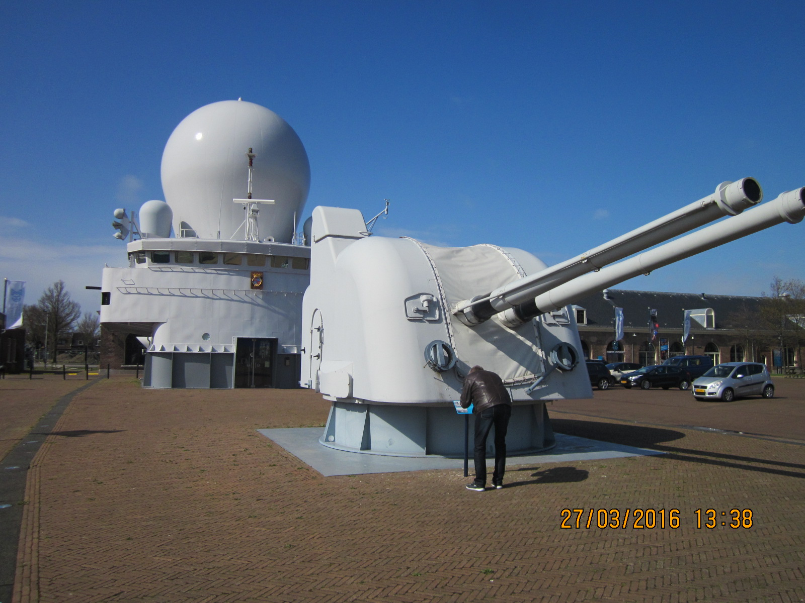 Marinemuseum Außenbereich