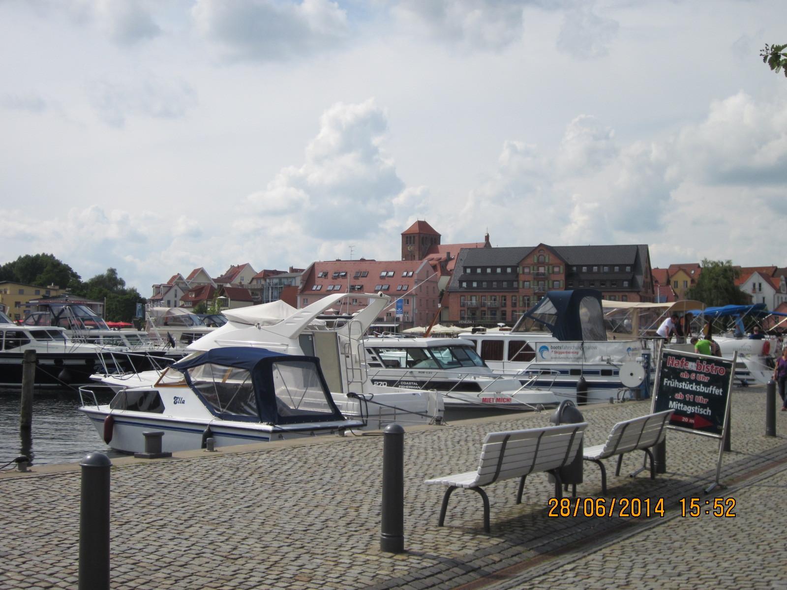 Hafen in Waren