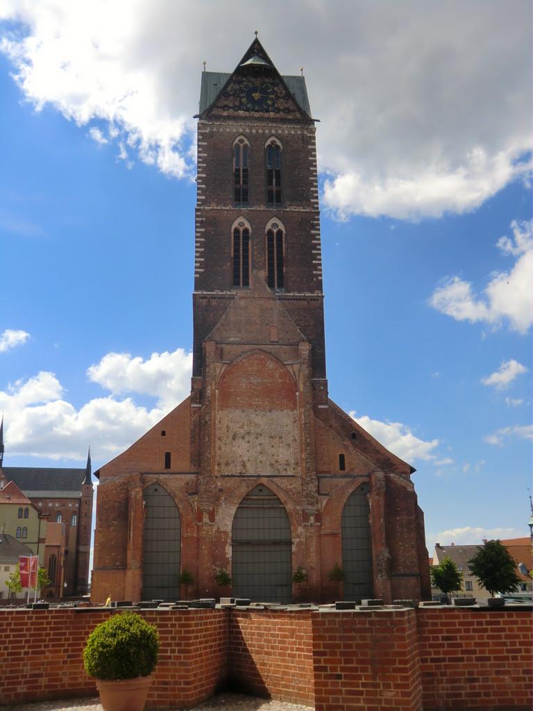 die Marienkirche - ein Wahrzeichen von Wismar