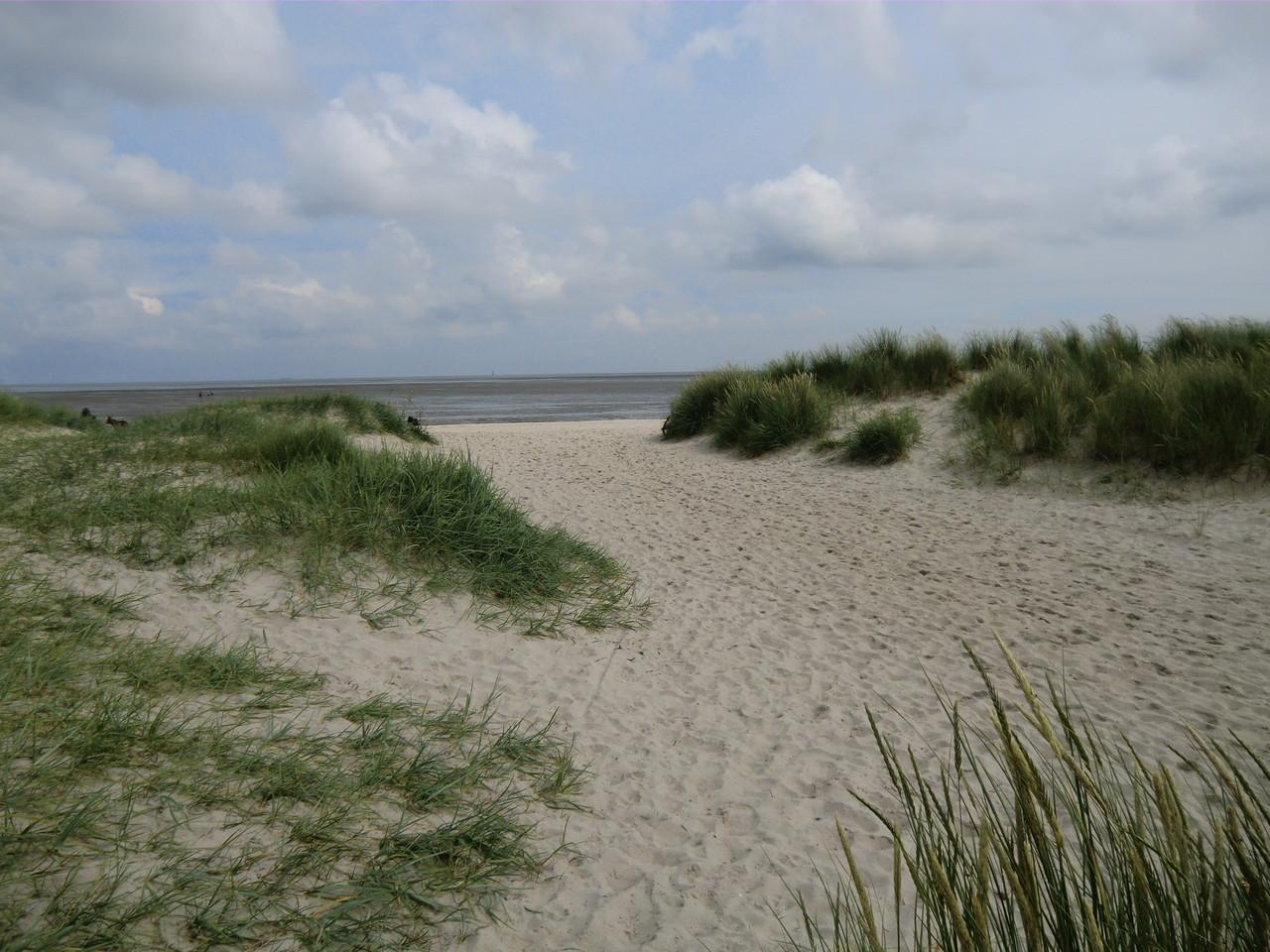 So schön kann der Strand auch sein