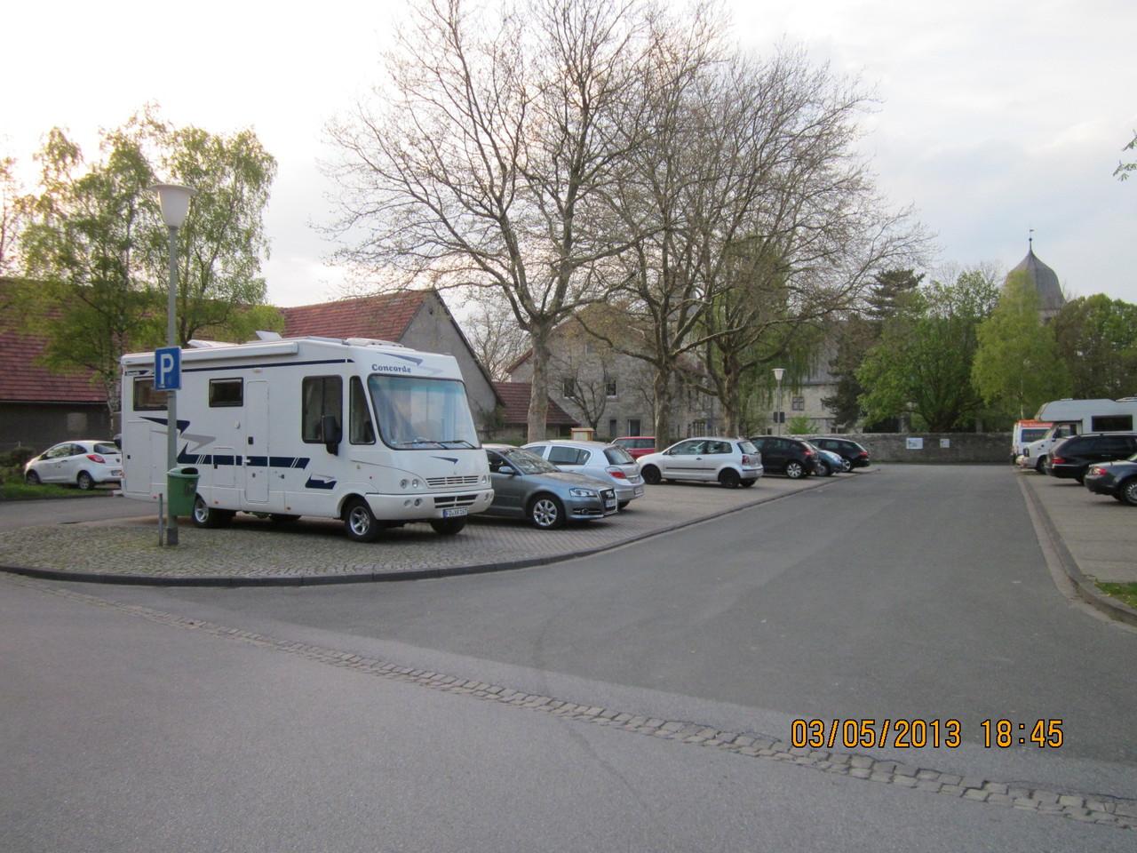 Parkplatz an der Wewelsburg