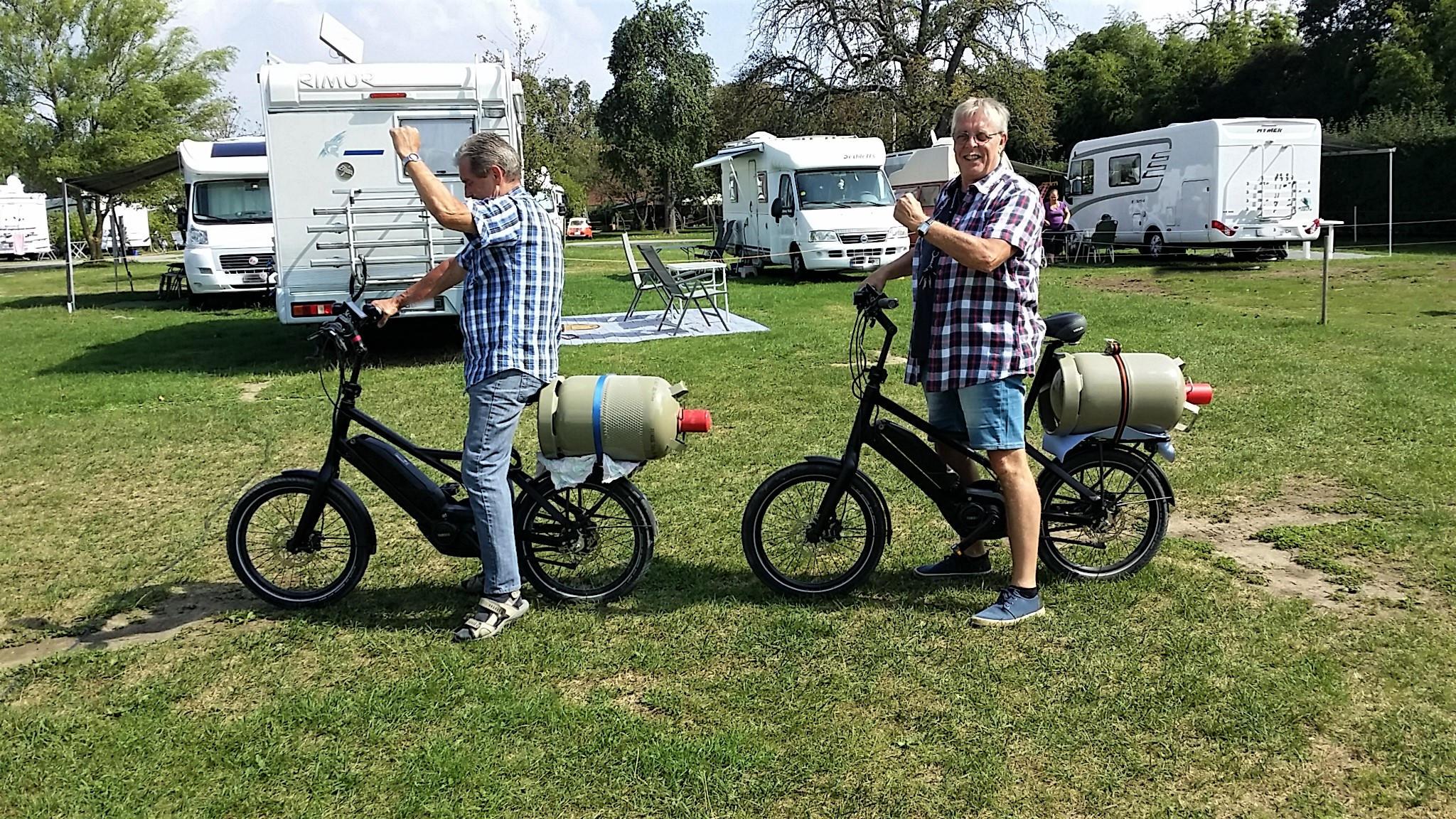 Bikes mit Gasantrieb