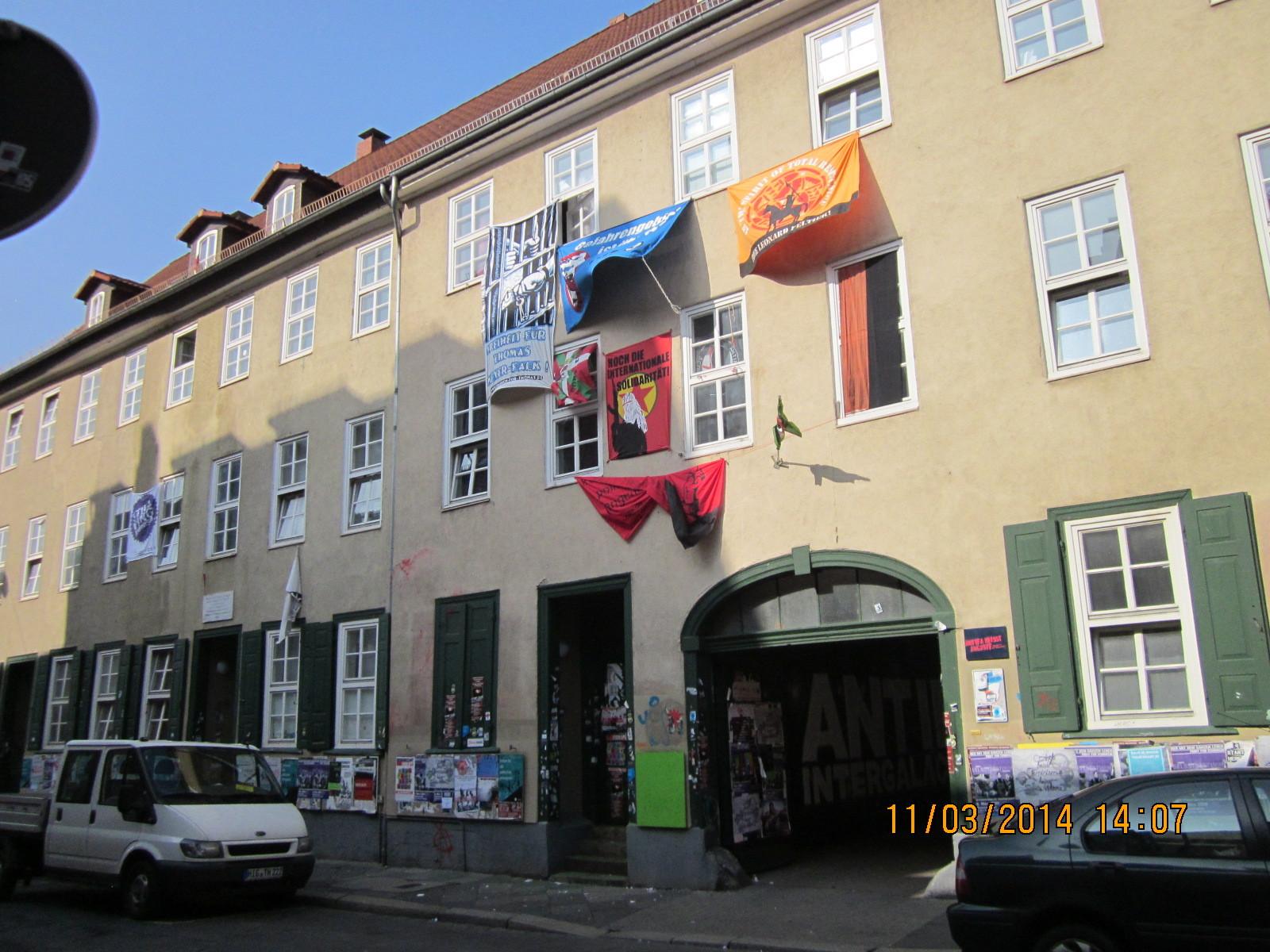 Und die Antifa hinterlässt in Göttingen überall ihre Spuren