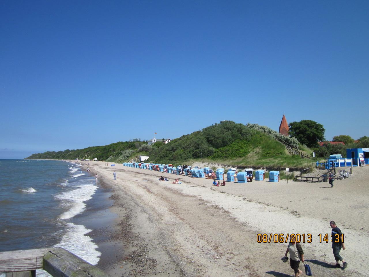 Strand Ostseeseite