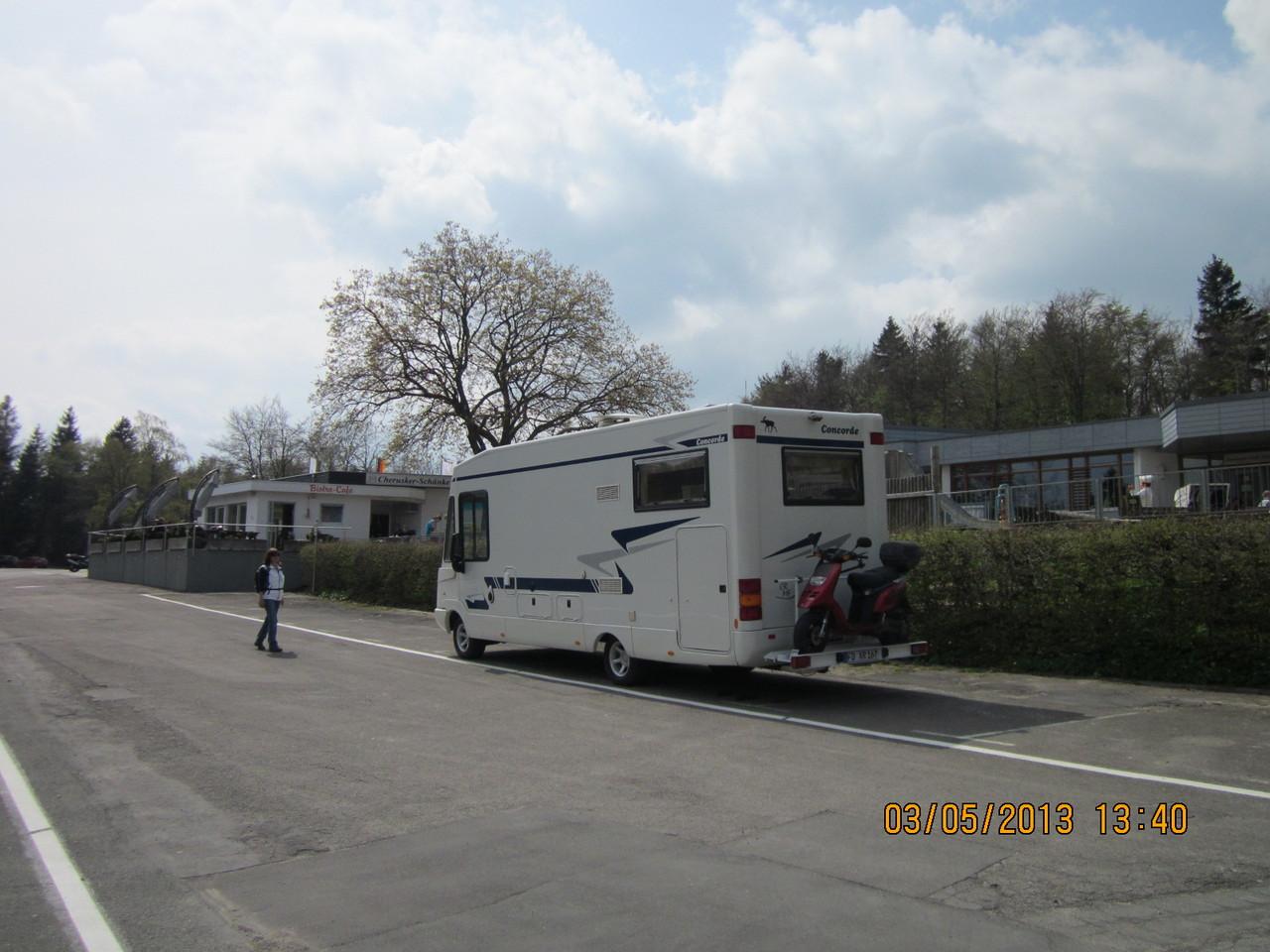Parkplatz am Hermannsdenkmal