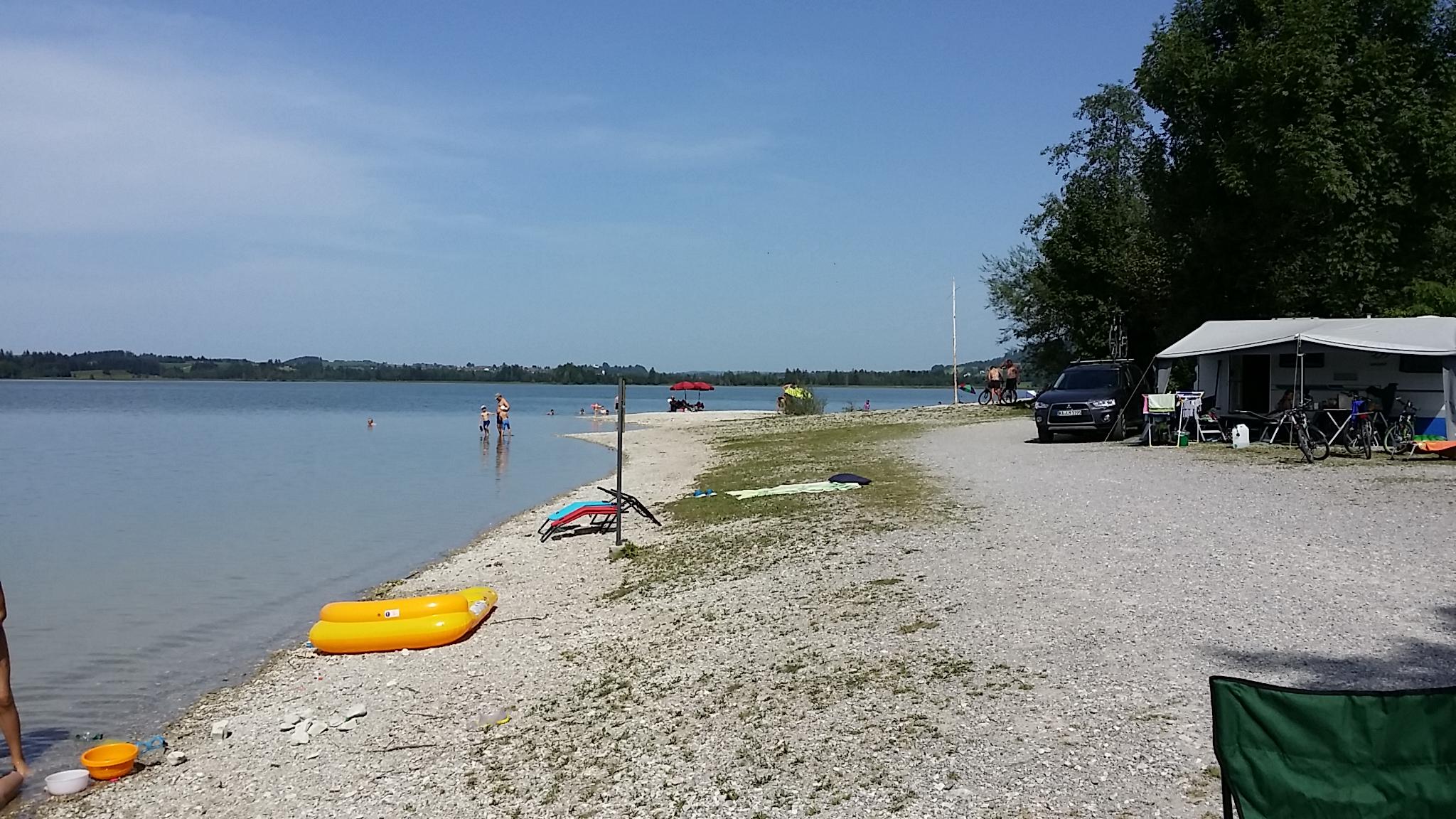 Strand am Bannwaldsee