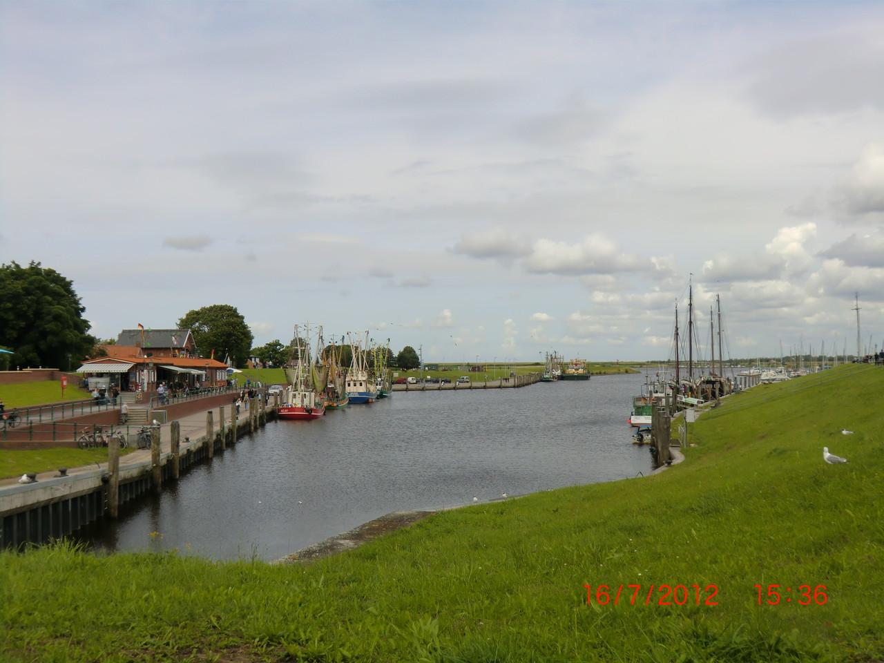 Hafen in Greetsiel