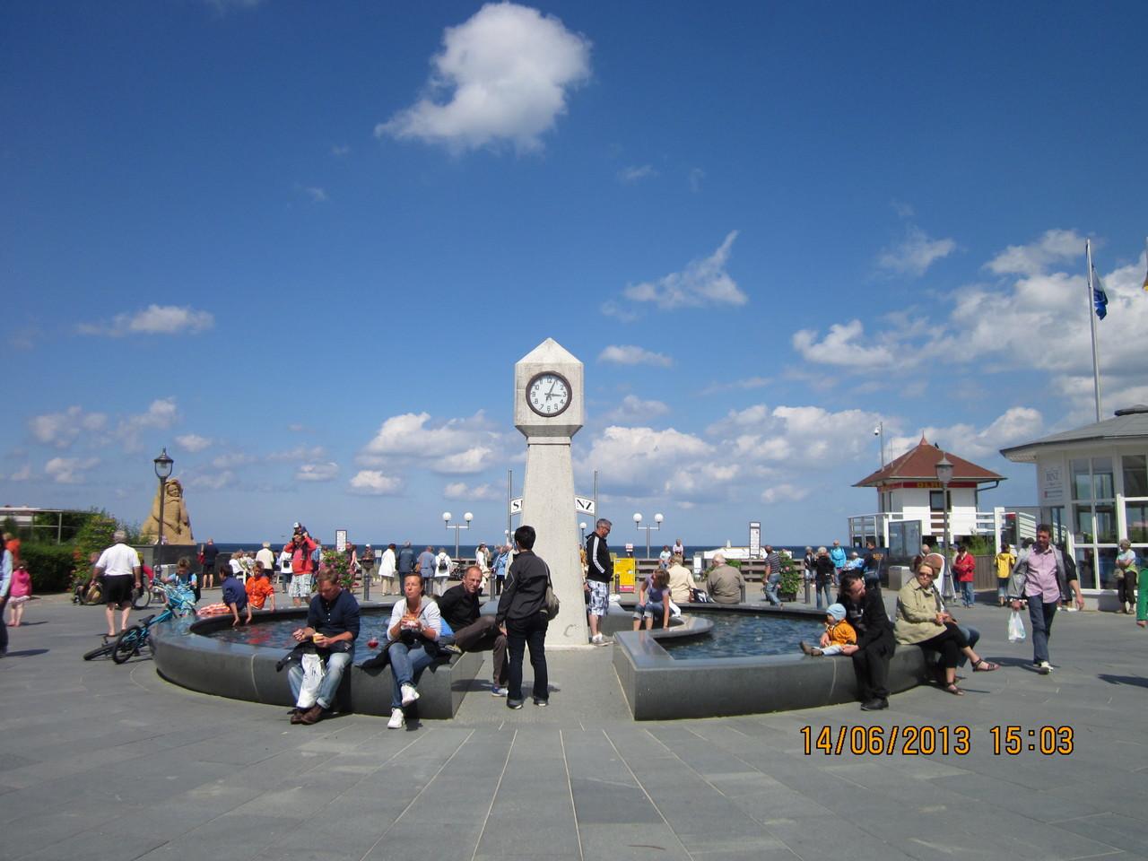 Rondell am Seebrückenvorplatz