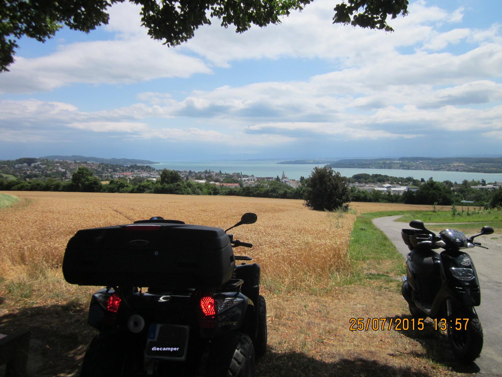 Blick zum Bodensee