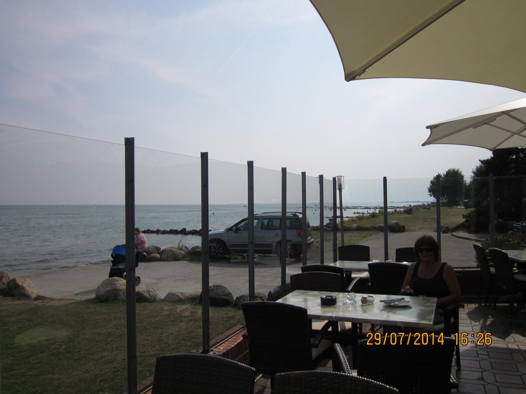 Restaurant direkt am Meer