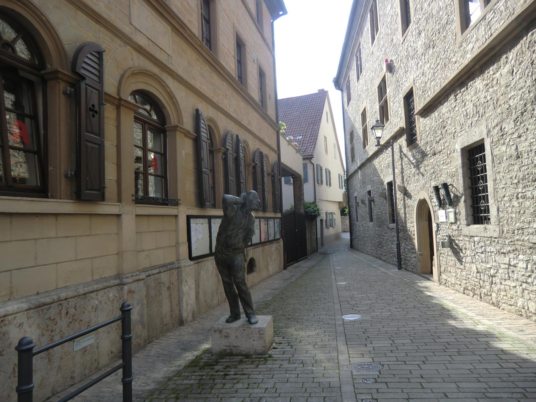 Kleine Gassen, alte Häuser