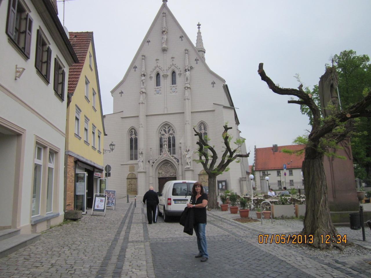die spätgotische Ritterkapelle