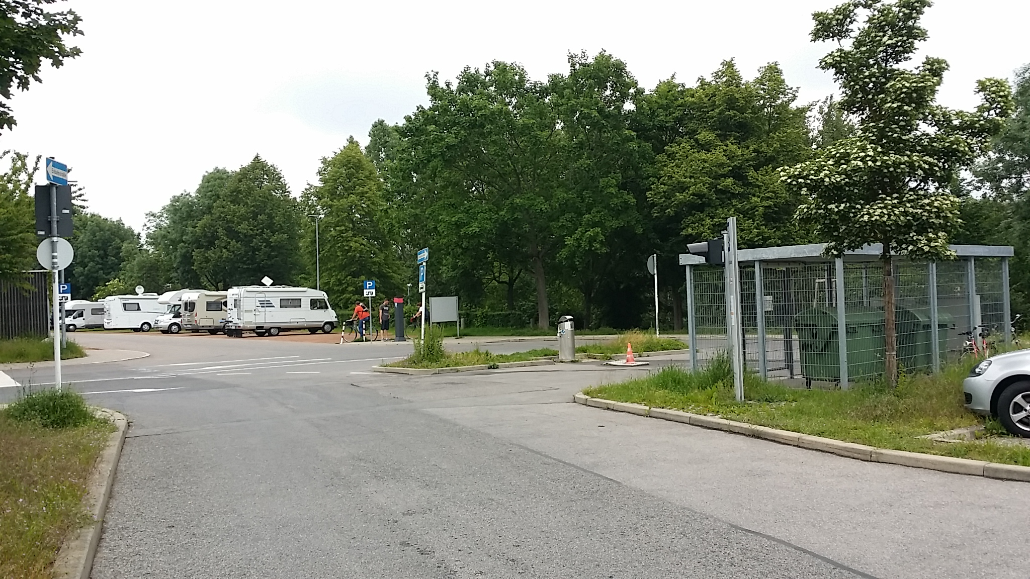 Einfahrt SP Bamberg