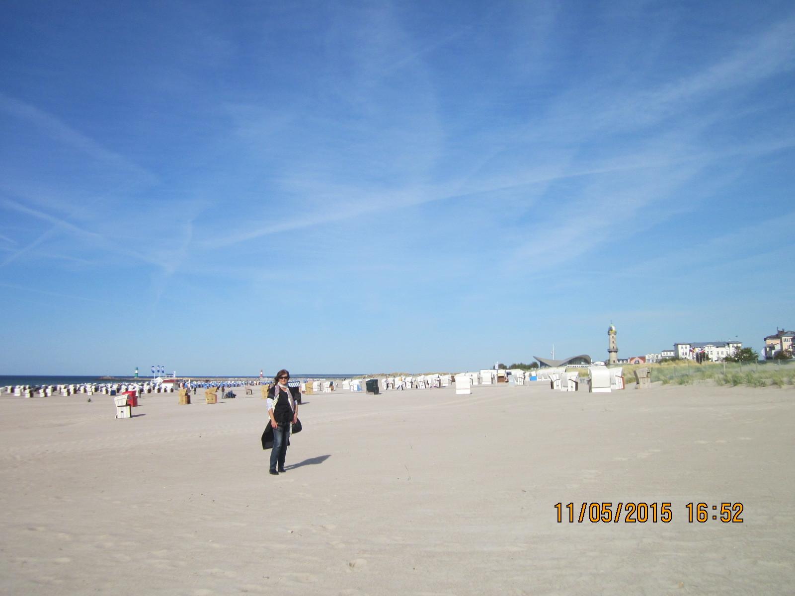 Der feine weiße Sandstrand