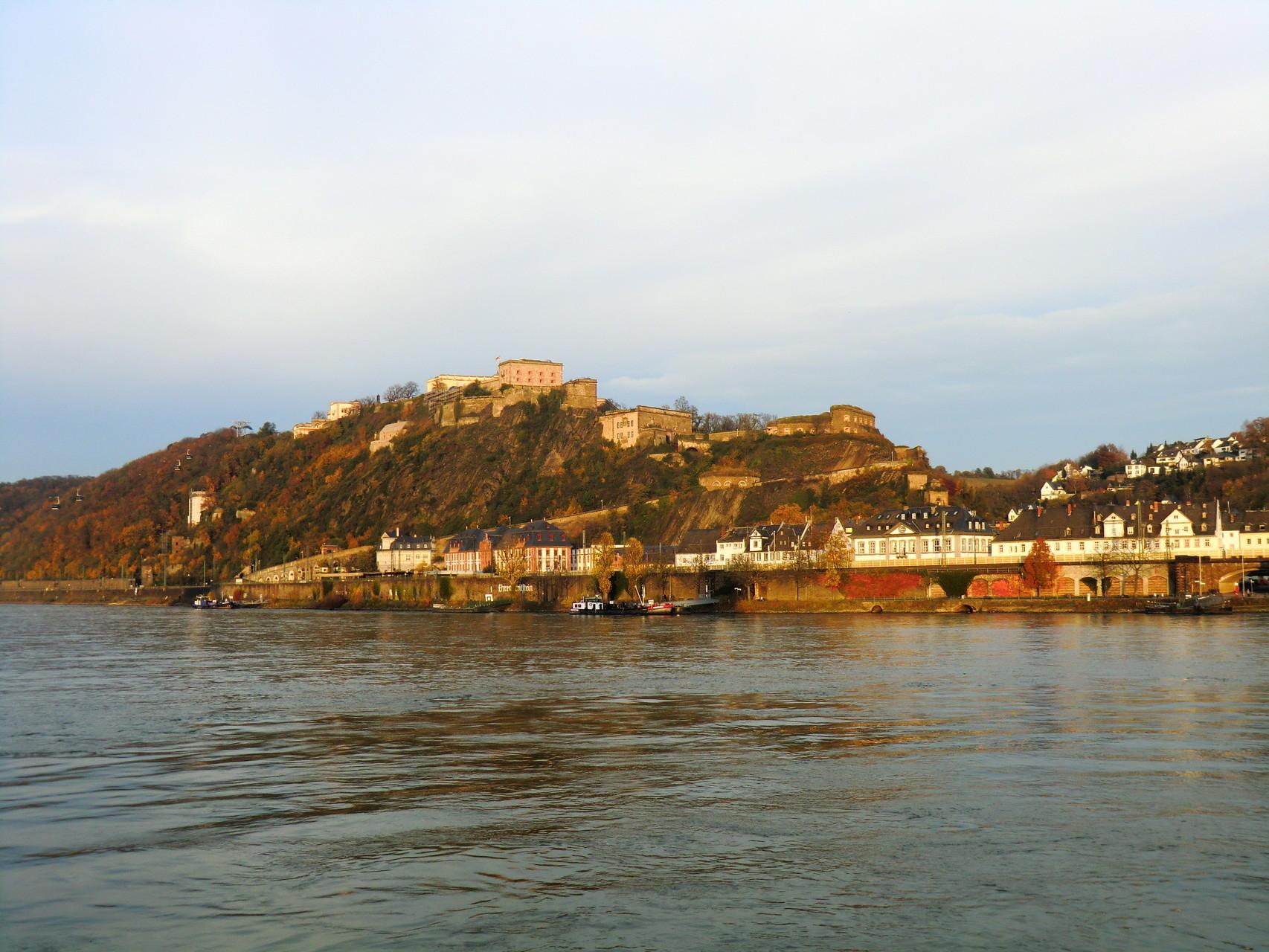 Festung Ehrenbreitstein.