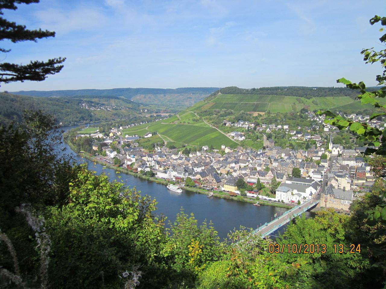 Blick von der Grevenburg