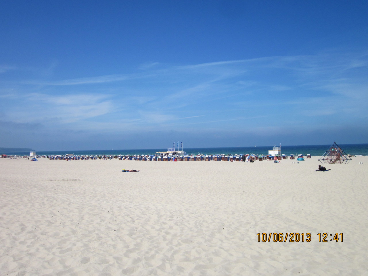 der breiteste Sandstrand der dt. Ostseeküste