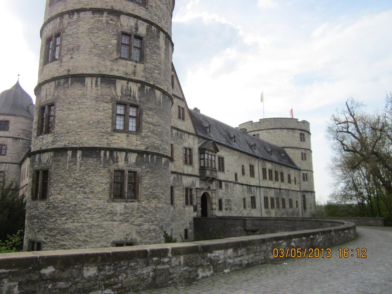 Wewelsburg Einfahrt