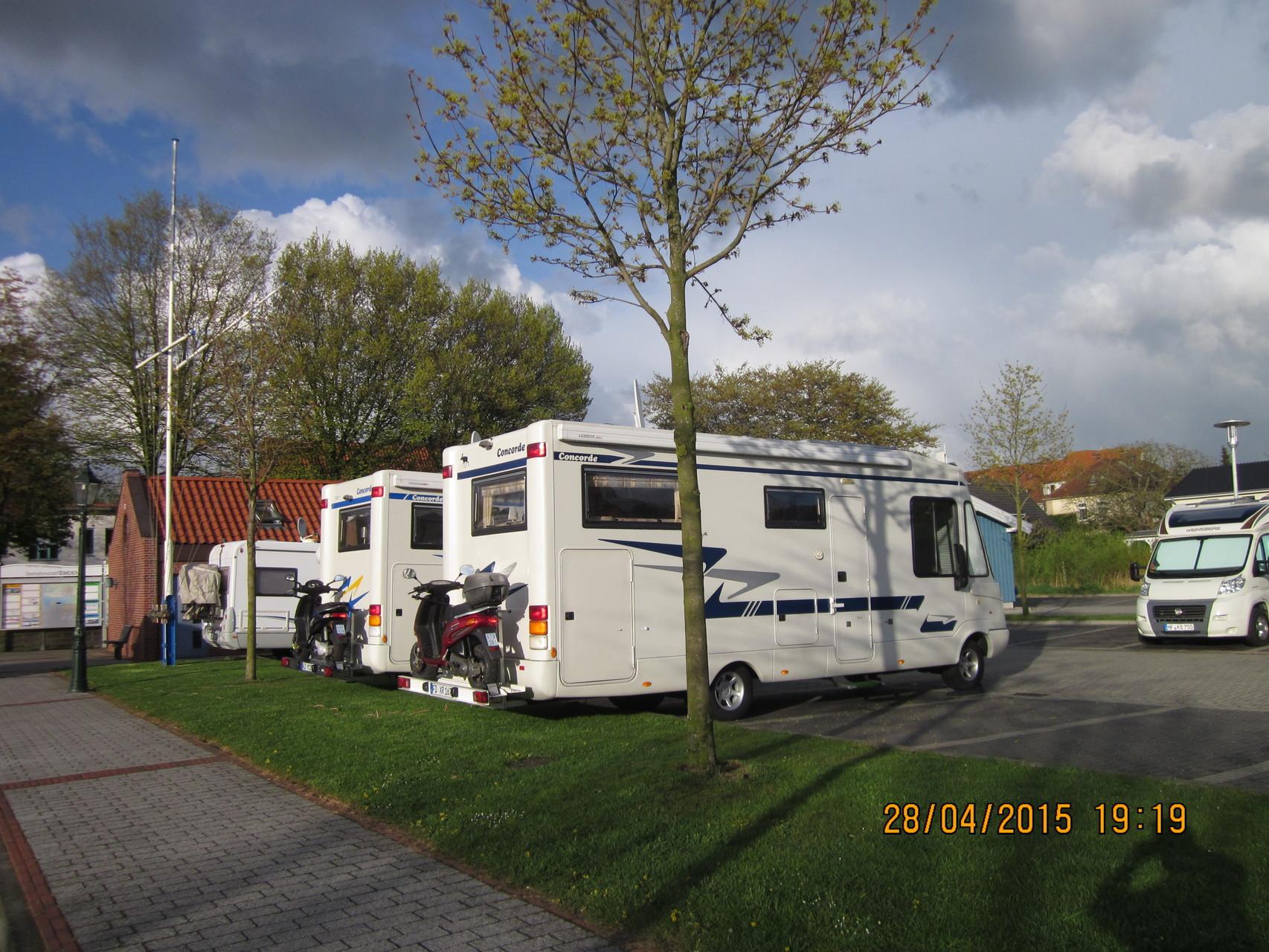 Wohmo Stellplatz in Emden