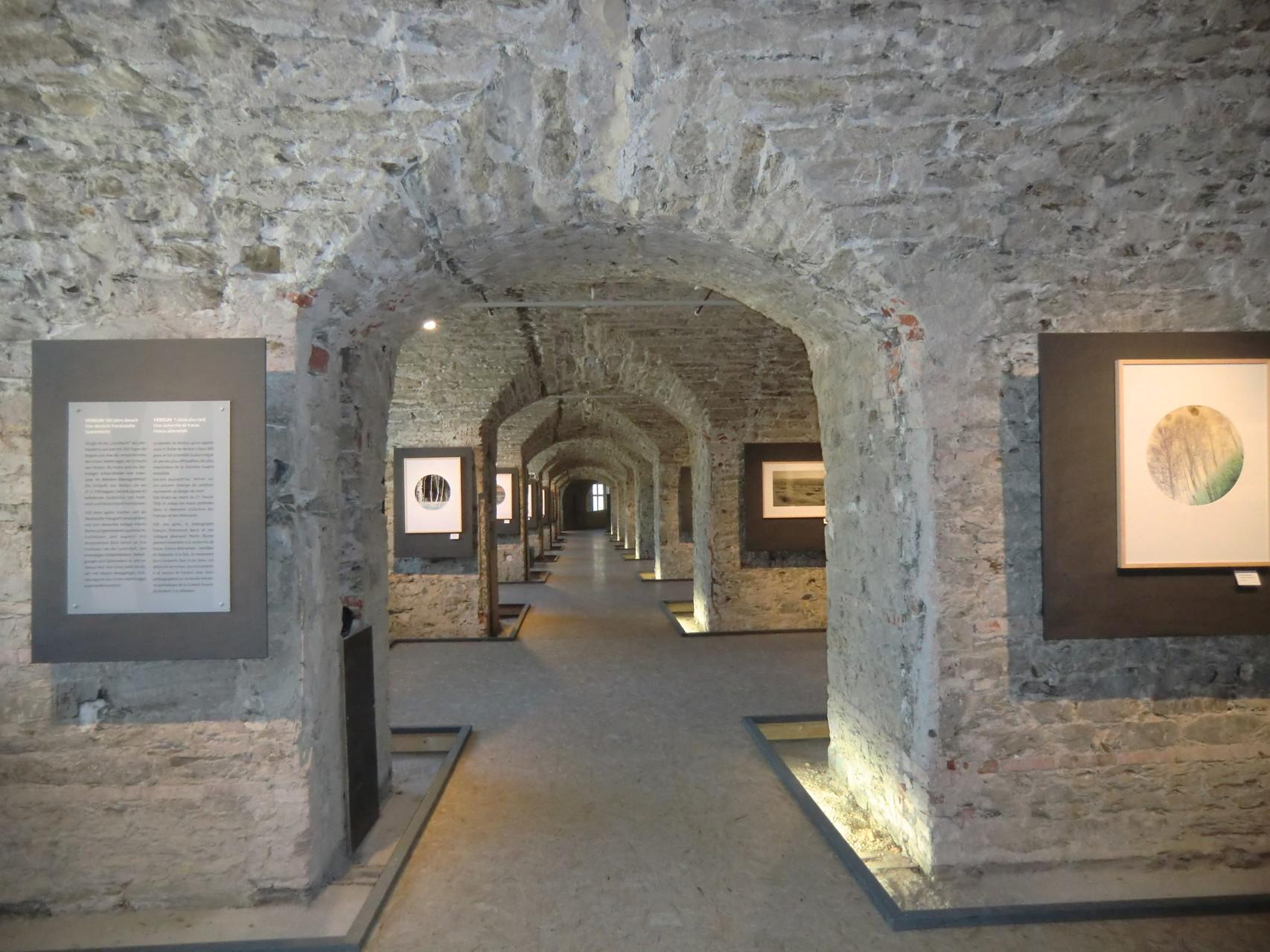 Eine der Ausstellungen in der Festung