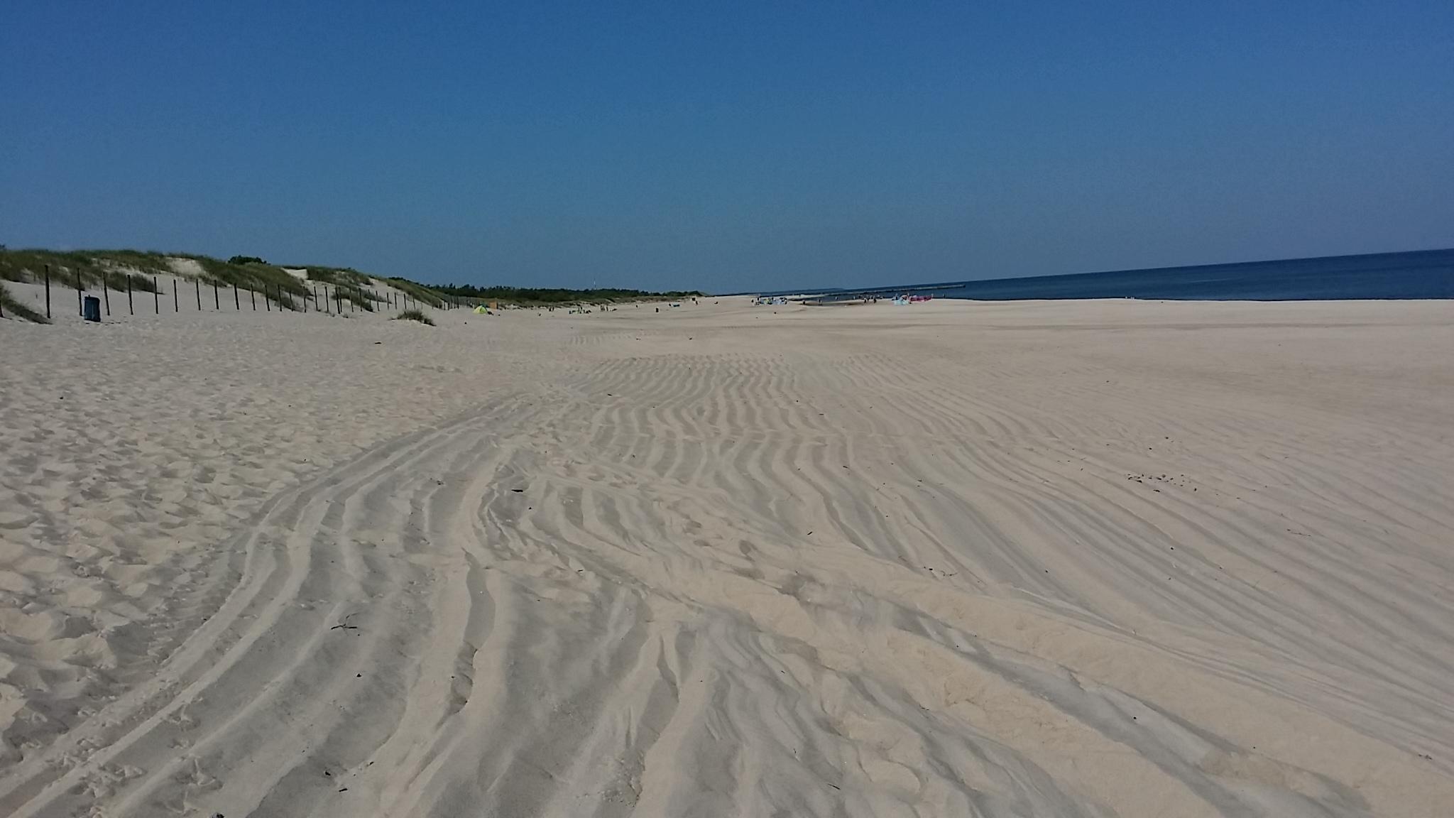 feiner, weißer Sand am Weststrand