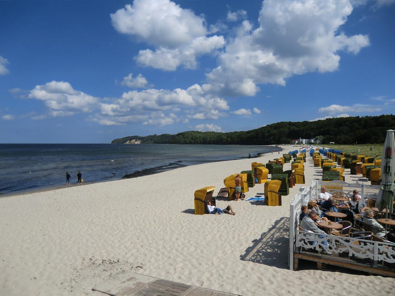 Strandabschnitt in Binz