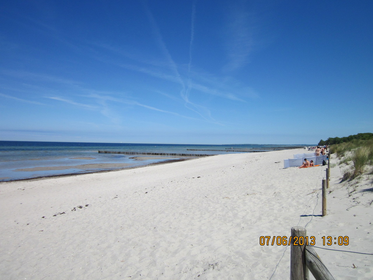 Strandabschnitt auf Poel