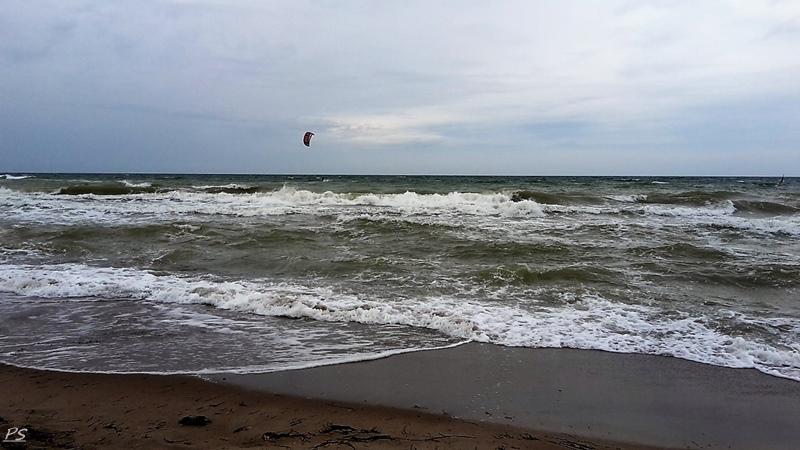 heftige Wellen