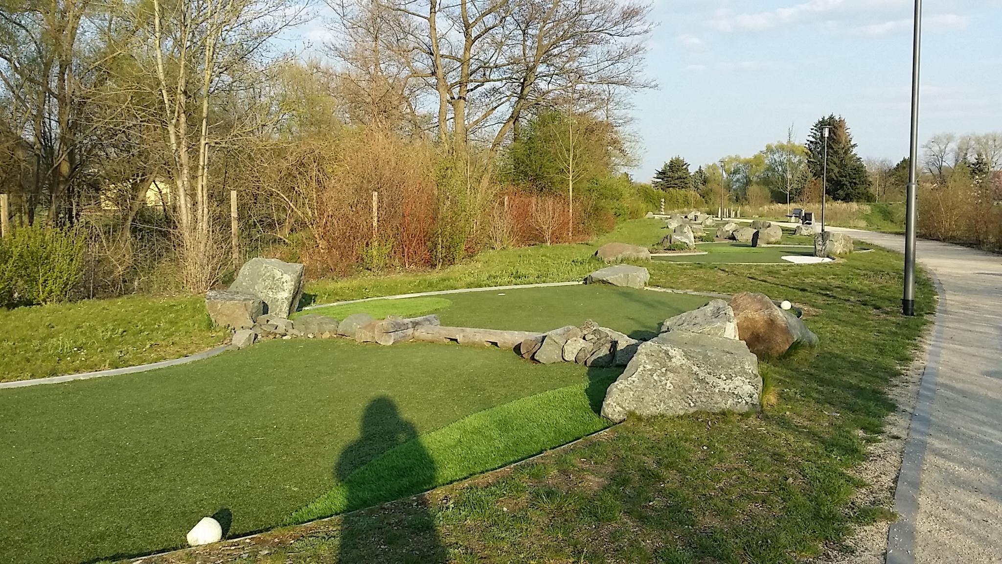 Rasen-Mini-Golf
