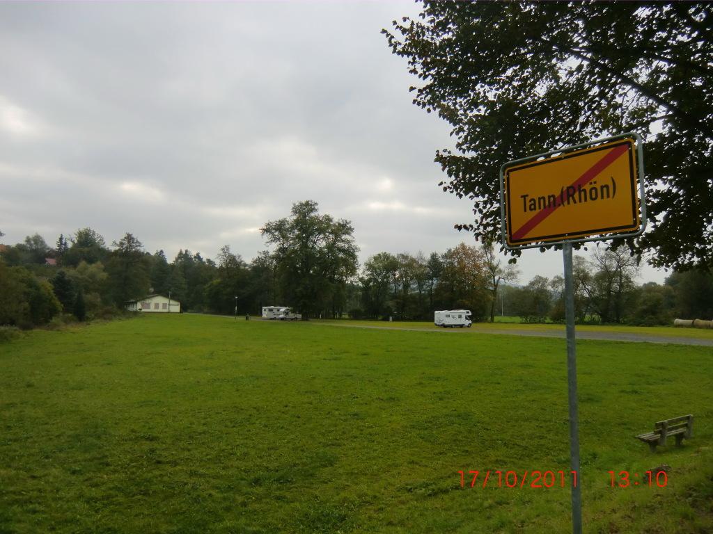 Wohnmobilstellplatz in Tann