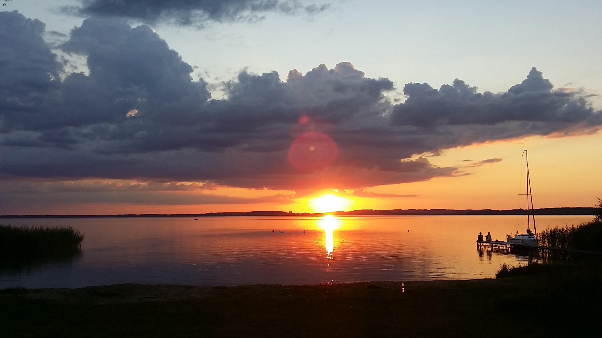 schöne Sonnenuntergänge gibt es hier