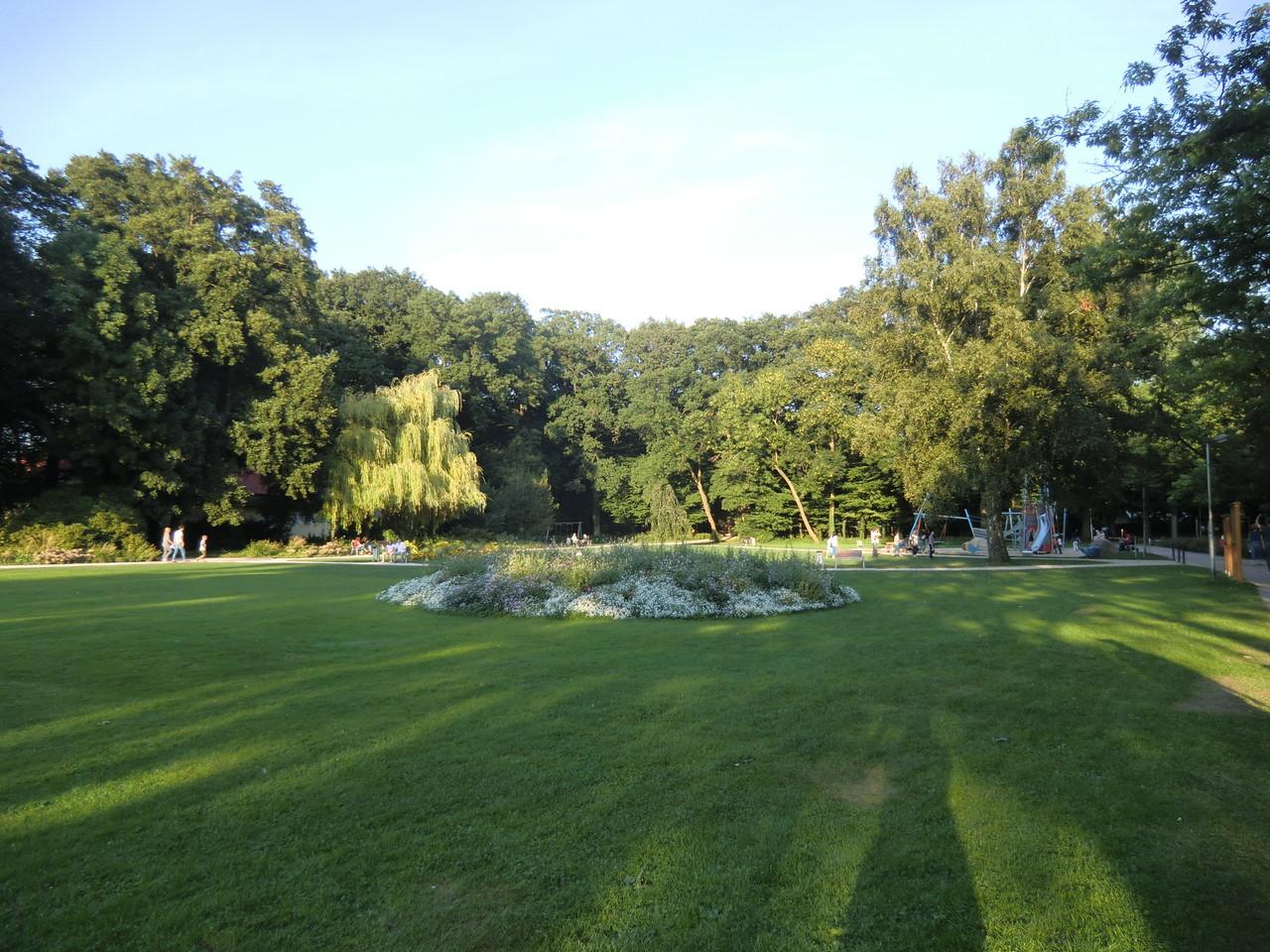 Die Grünanlage