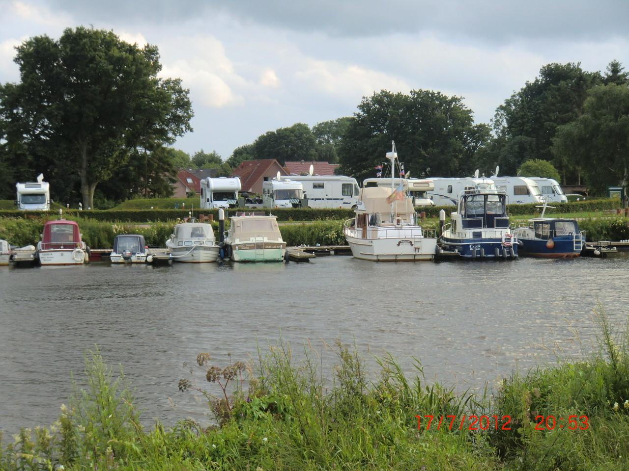 Stellplatz in Barßel an der Soeste