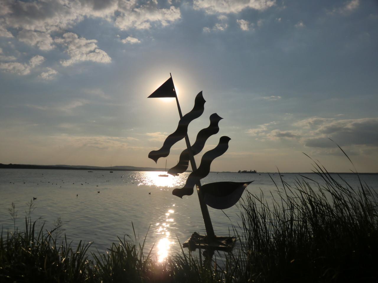 Kunstwerke am Wasser
