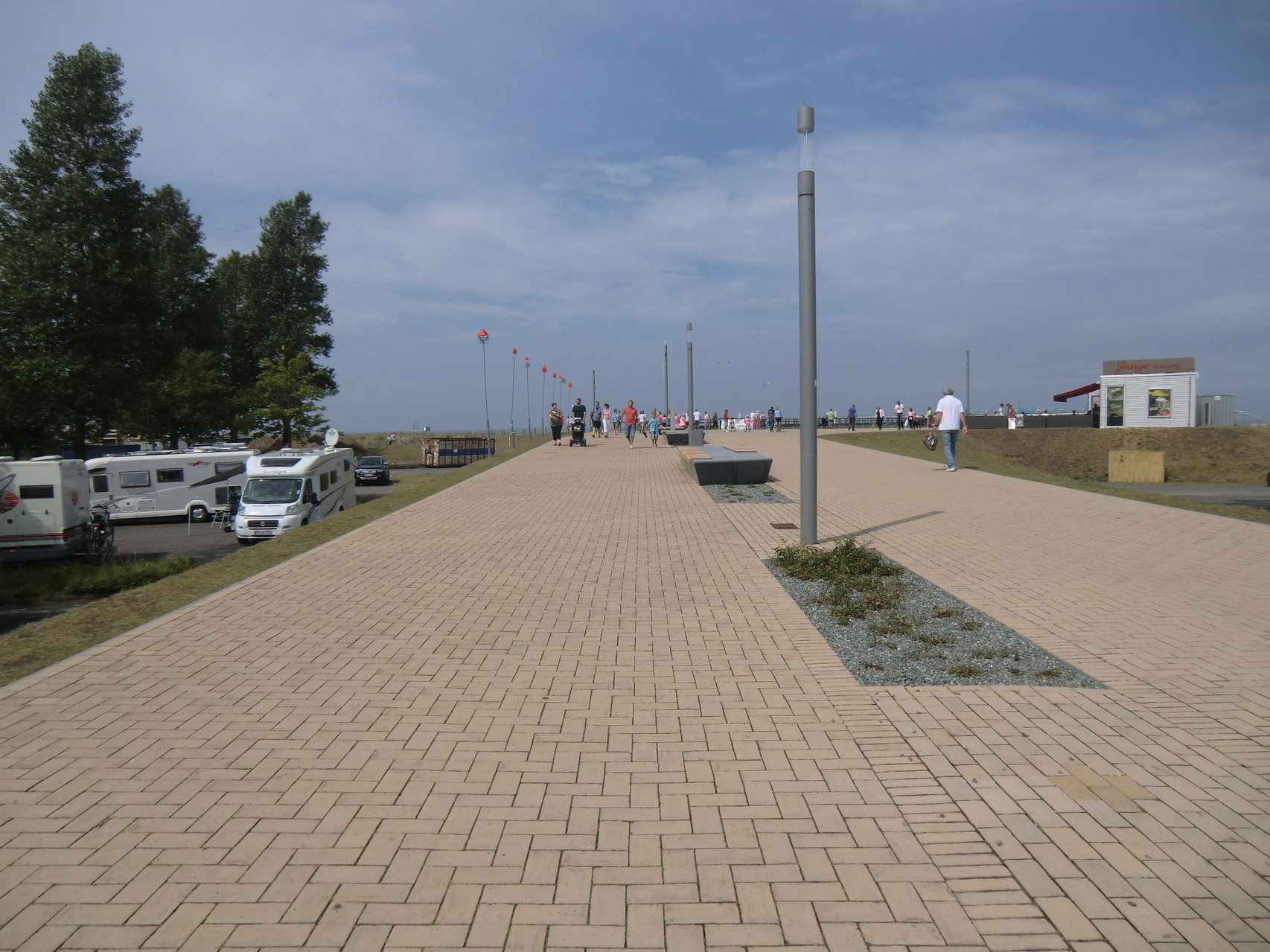 Promenade zur Seebrücke