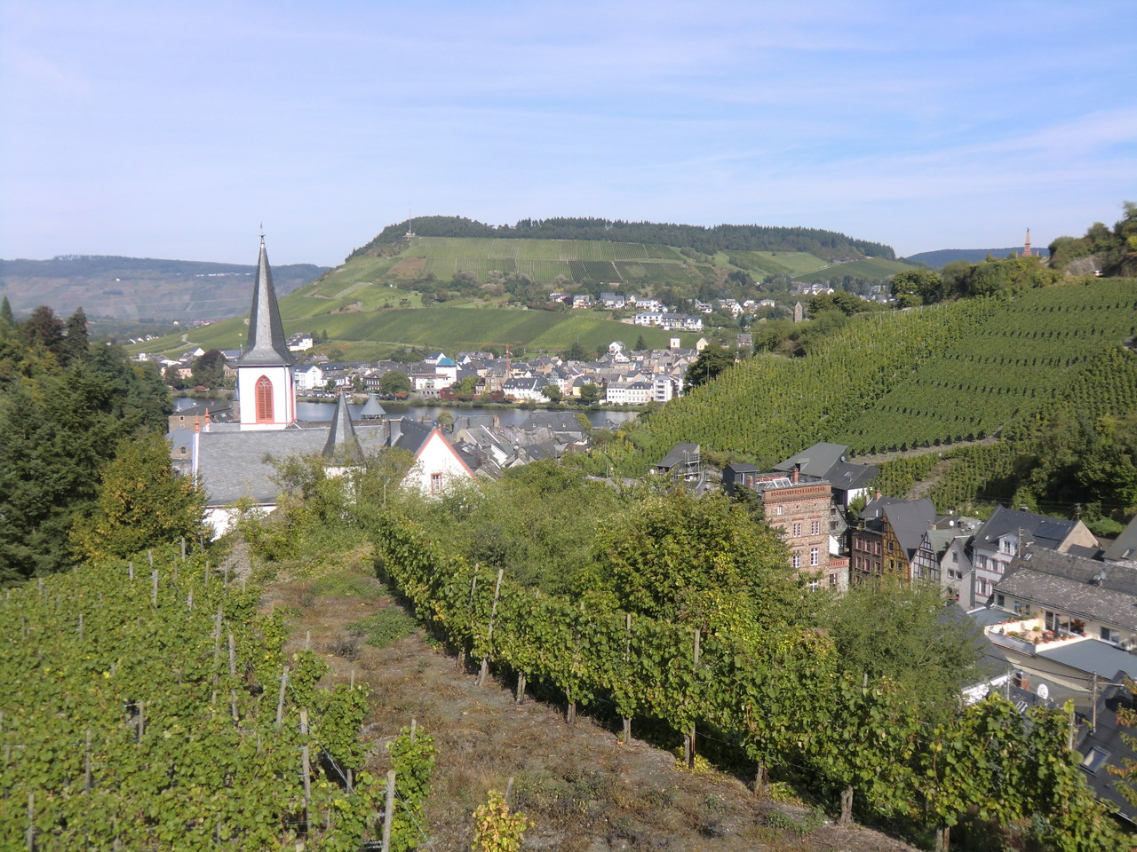 Auf dem Weg zur Grevenburg