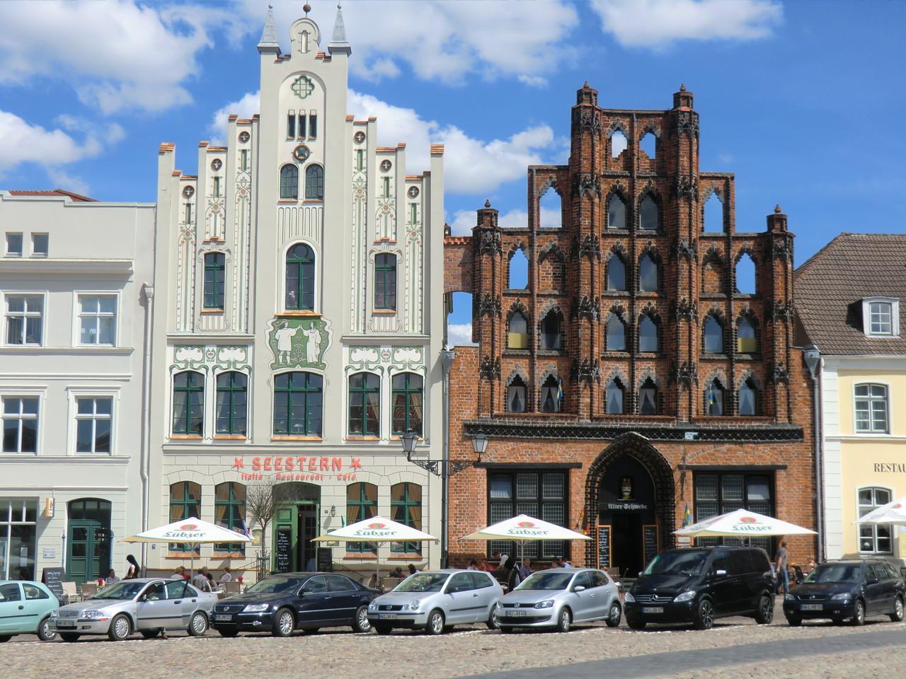 """der """"Alte Schwede"""" wurde um 1380 erbaut"""