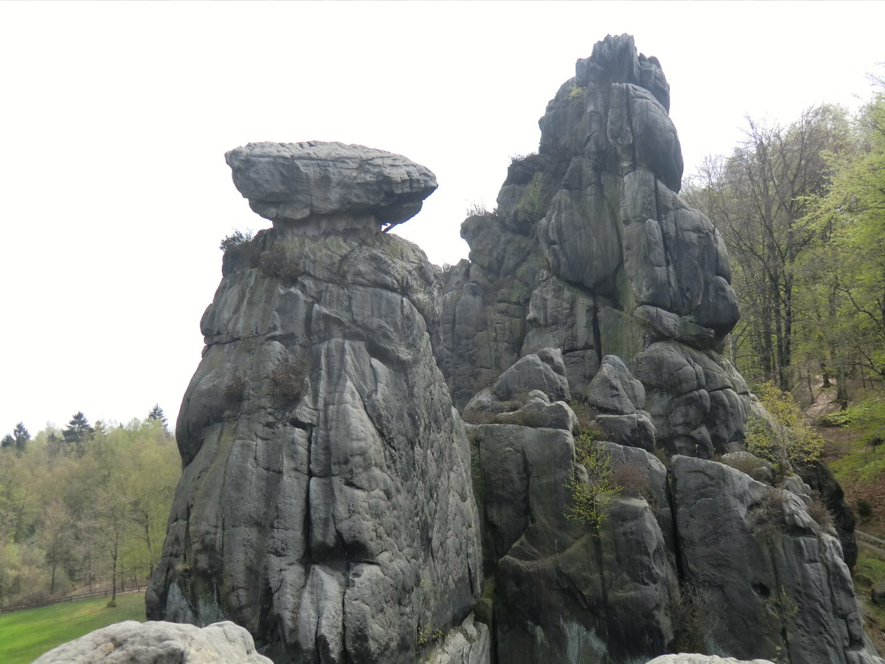 gewaltige Felsen
