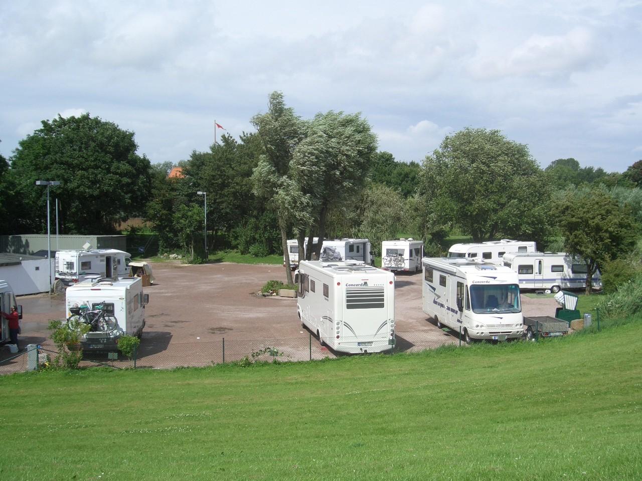 Wohnmobilstellplatz Schleuseninsel Wilhelmshaven