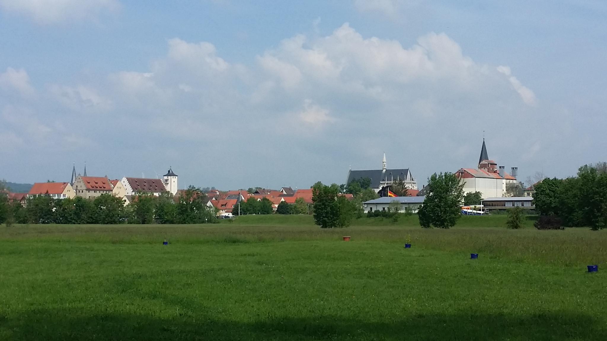 Blick auf Haßfurt