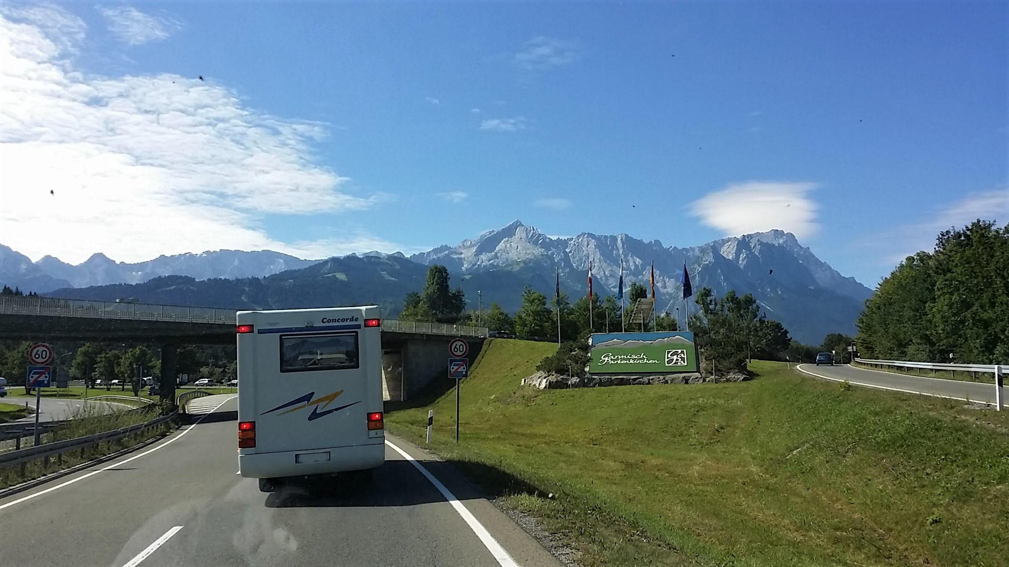 Immer Richtung Zugspitze