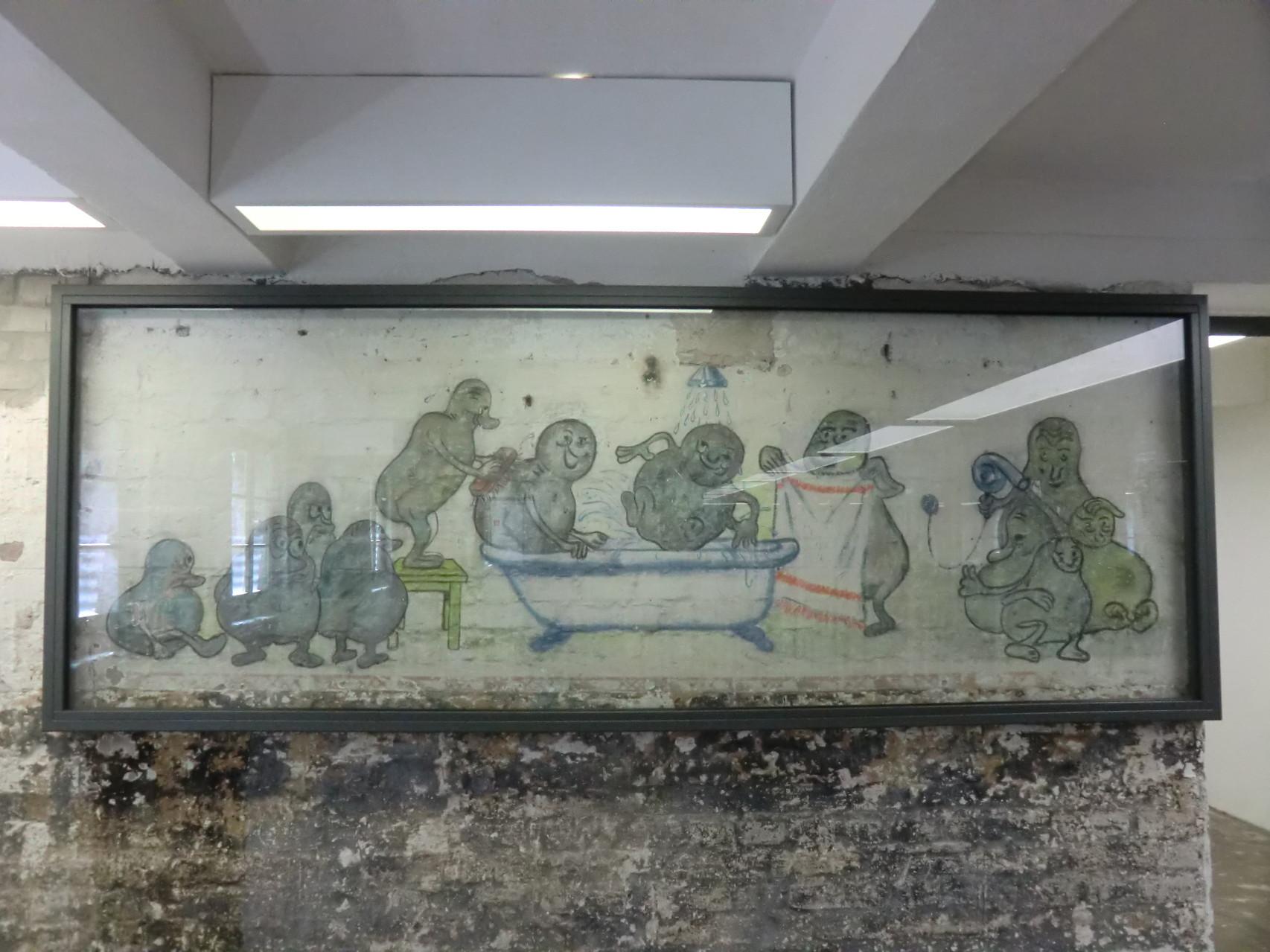 Originalgemälde der KZ Häftlinge