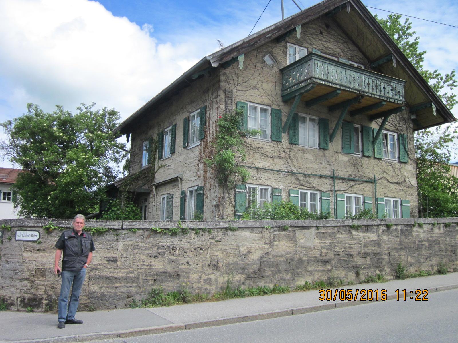 historisches Haus in Uffing