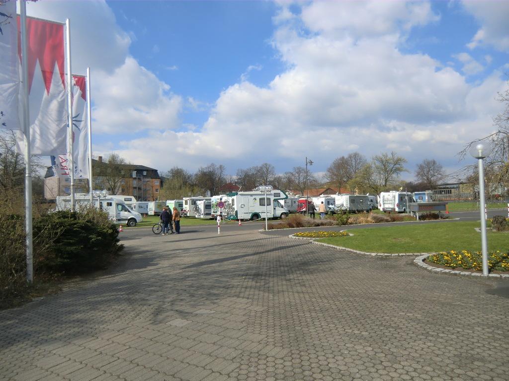 Wohnmobilisten-Treffen in Bad Königshofen