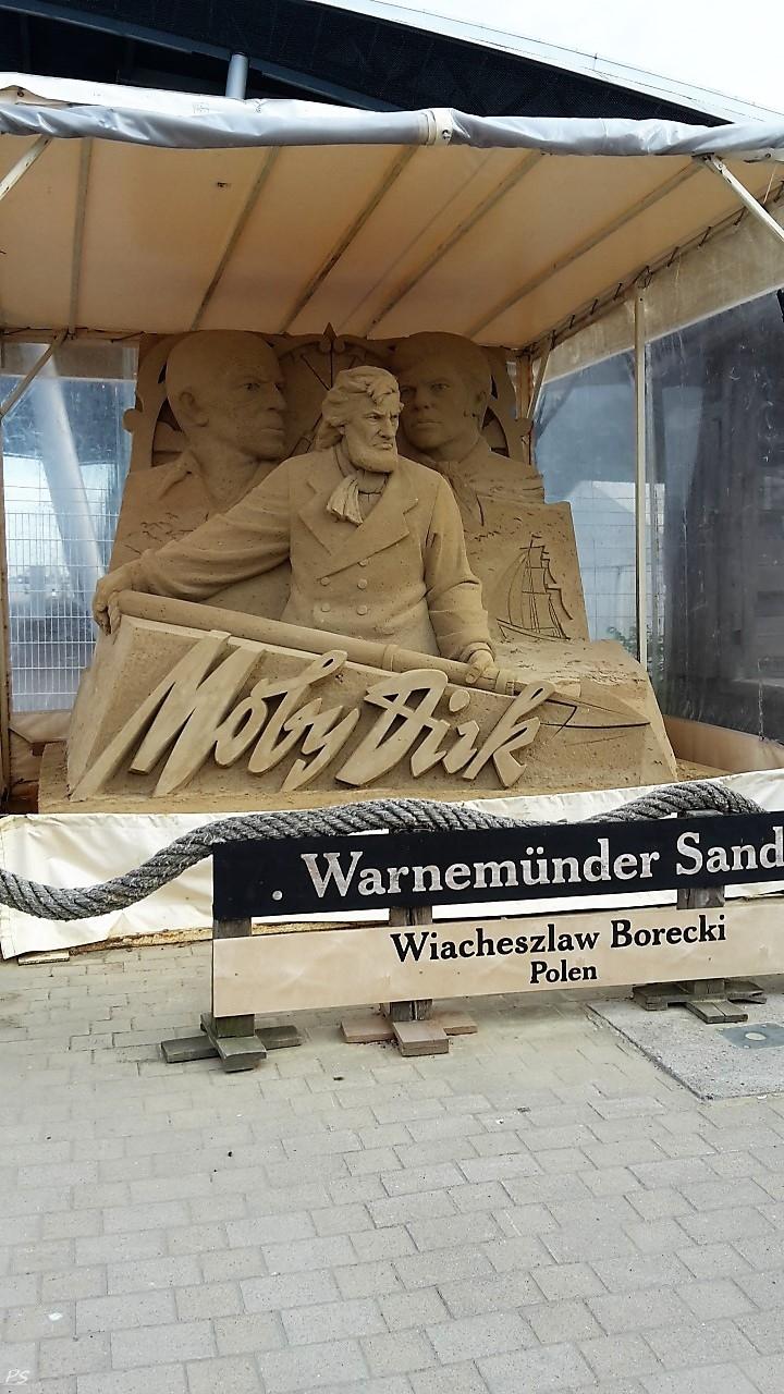 tolle Sandskulpturen