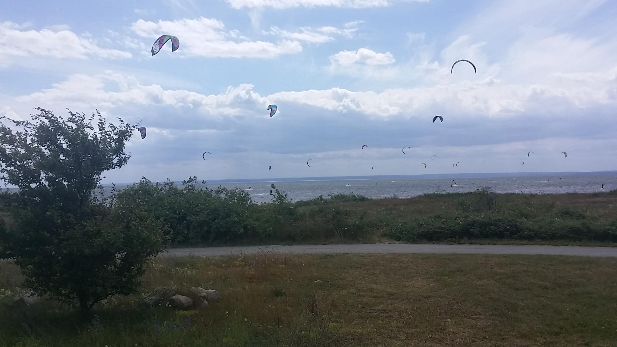 Kitesurfer Paradies