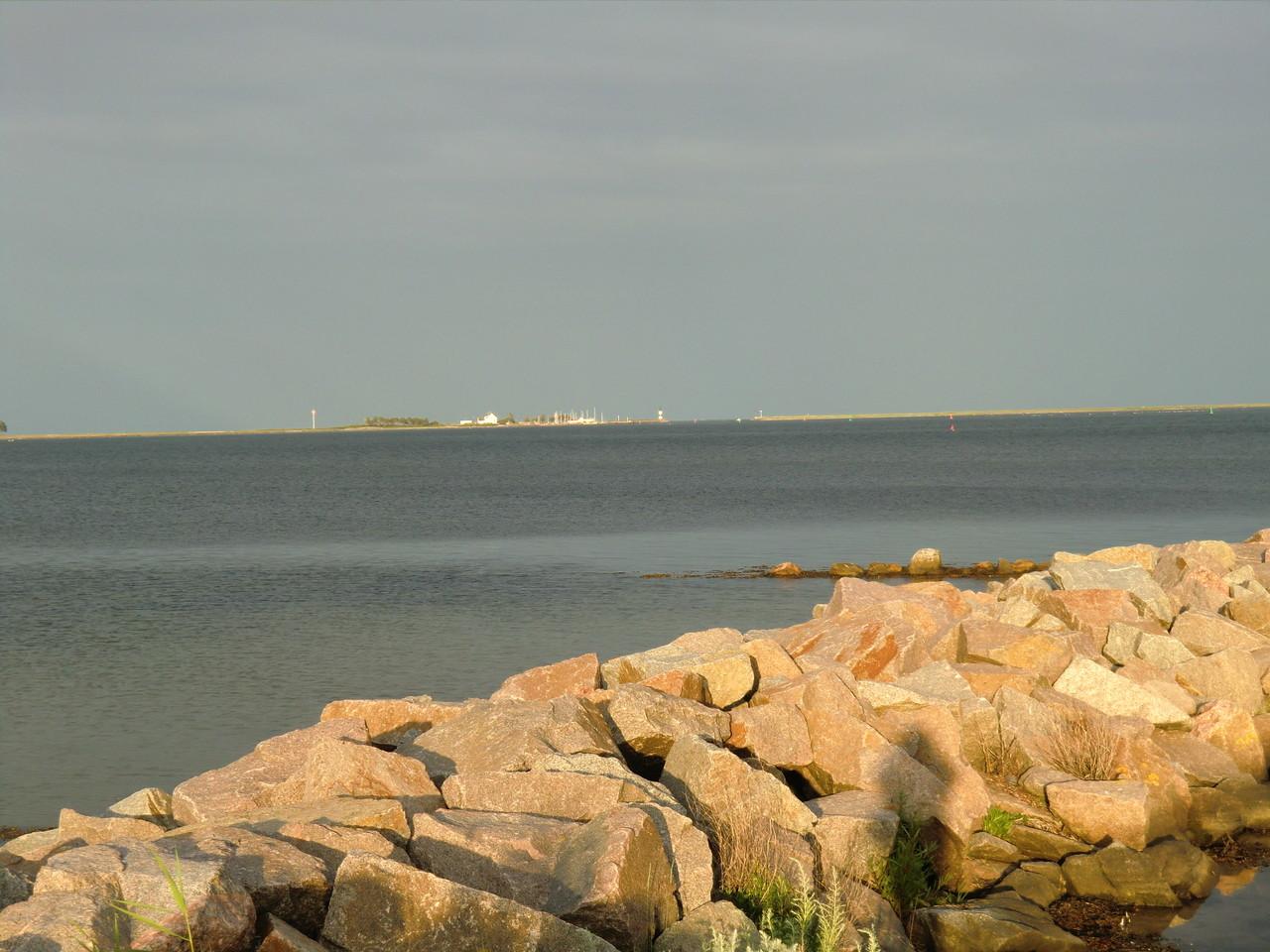 Blick zur Lotseninsel