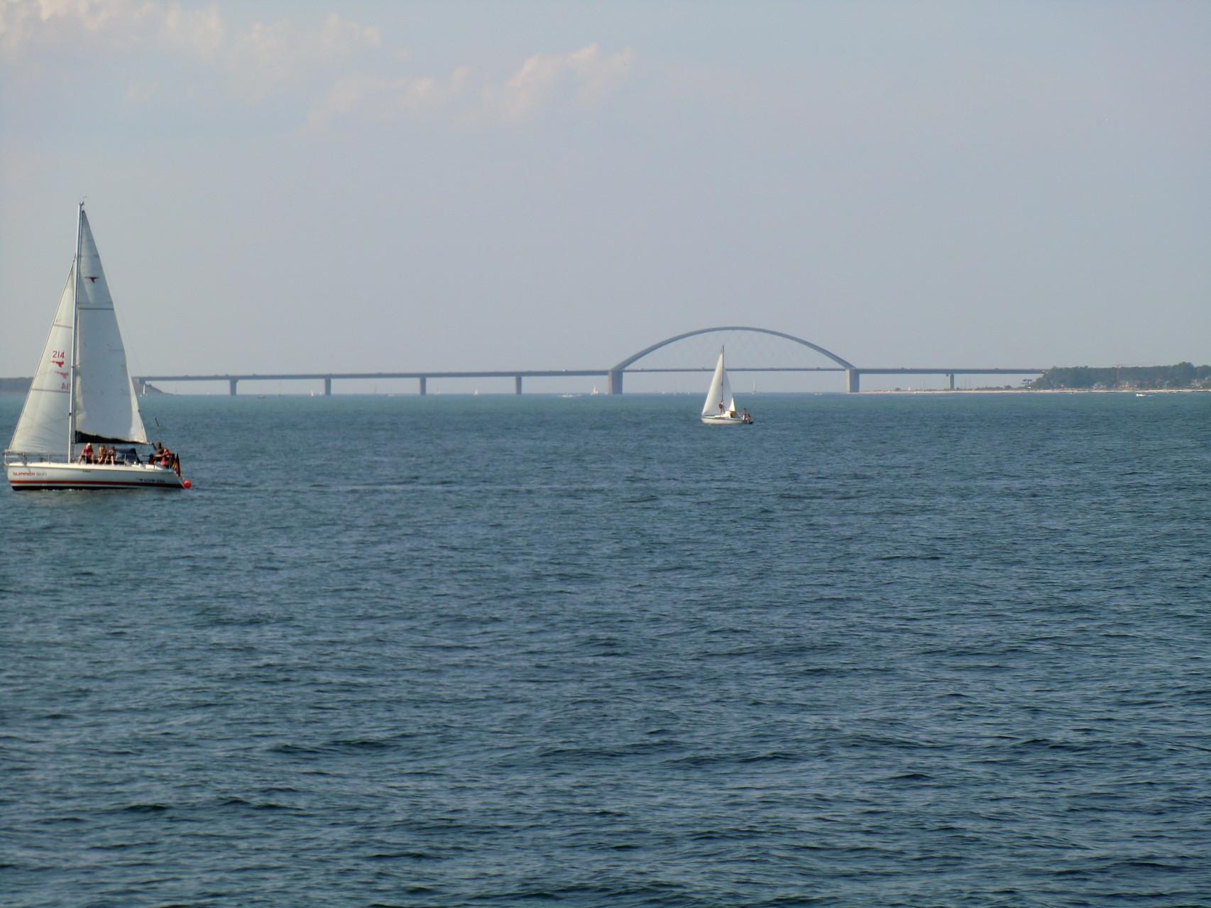 Blick auf die Sund-Brücke
